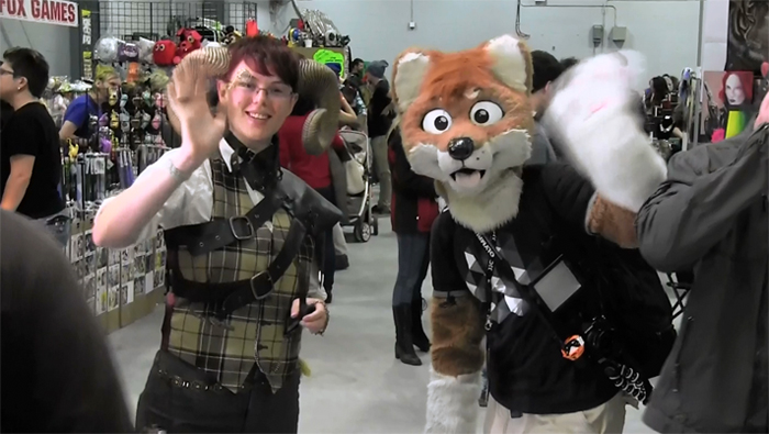 Just another normal day at the Ottawa Geek Market