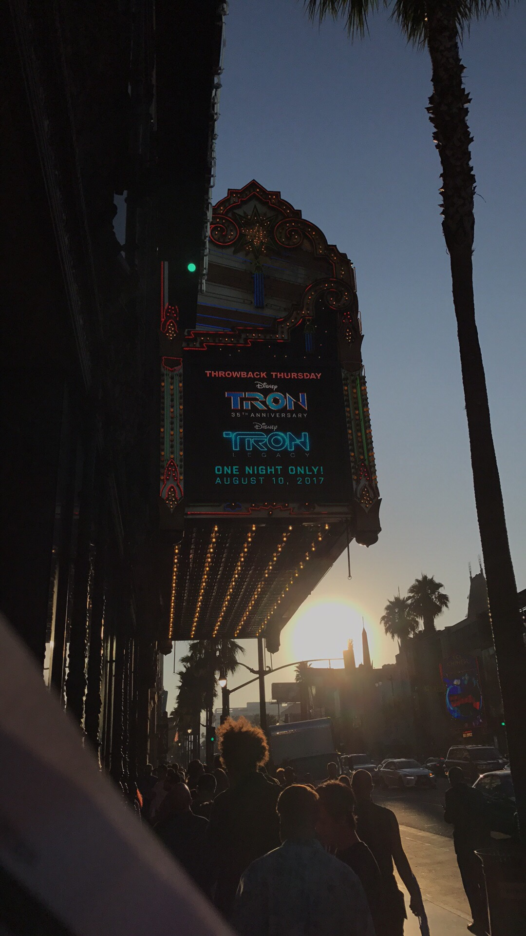Double Feature at the El Capitan
