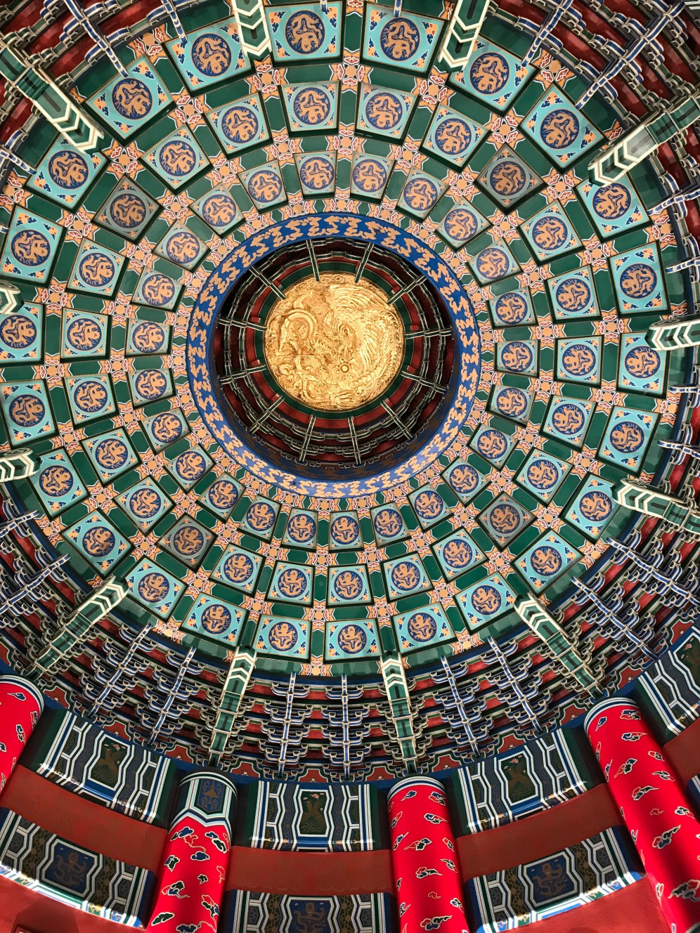 Roof in China Epcot