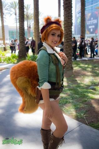 Squirrel Girl by @elizabethrage
