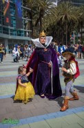Maleficent, Snow White and Prince Charming