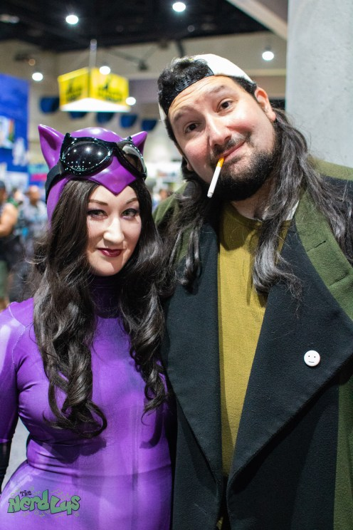 Catwoman and Silent Bob @liquidelvis