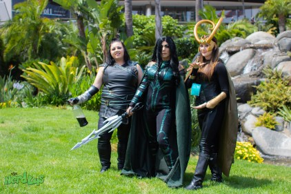 Valkyrie, Hela and Loki