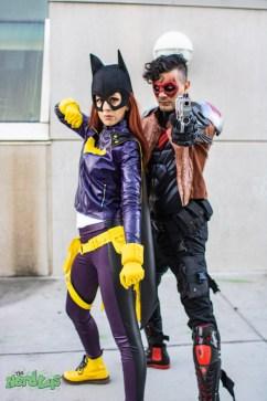 Batgirl and Red Hood