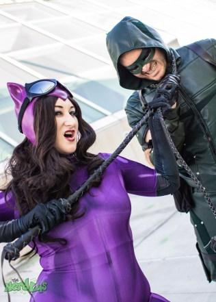 Catwoman caught Arrow @ladyraegun and @ghawk50