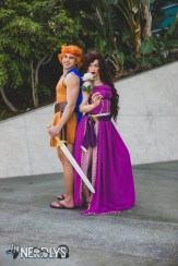 Hercules and Meg (@fnkinetic @emdavfro)
