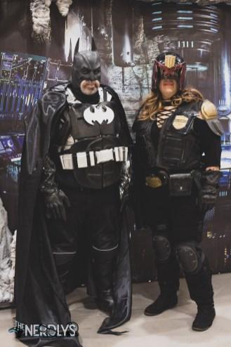 Batman and Judge Dredd