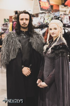 Jon Snow and Daenarys