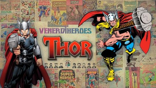 Io sono Thor, figlio di Odino!
