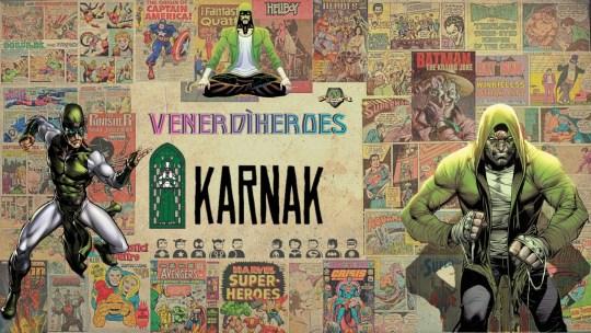 Karnak: filosofo, combattente e prete.