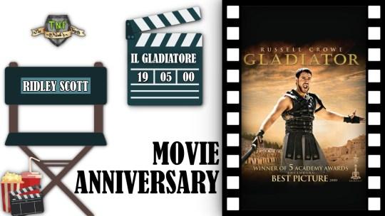 Il Gladiatore compie vent'anni- #MovieAnniversary