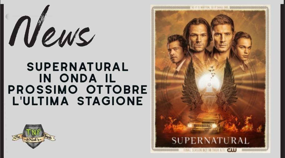 Supernatural – in uscita a ottobre l'ultima stagione della serie