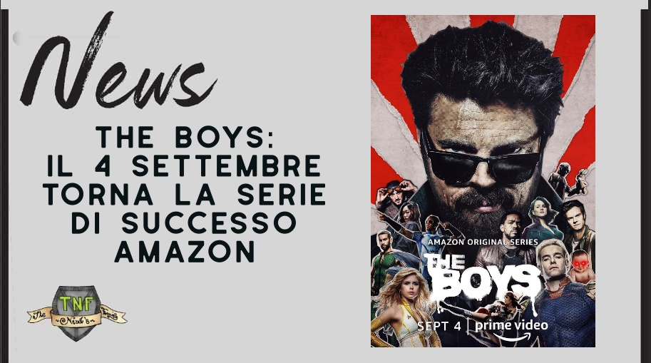 The Boys – il ritorno della serie successo di Amazon Prime Video