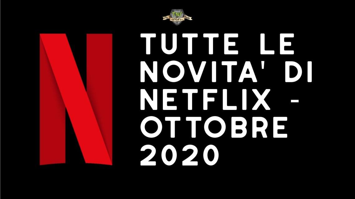 Programmazione Netflix di Ottobre 2020