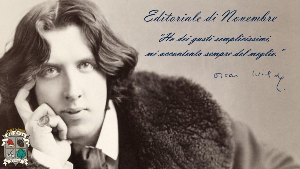 L'editoriale di novembre: 120 anni dalla morte di Oscar Wilde