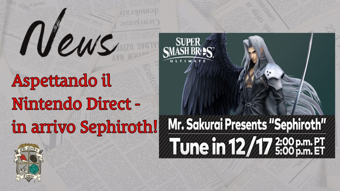 Super Smash Bros. Ultimate: Sephiroth scende in campo!
