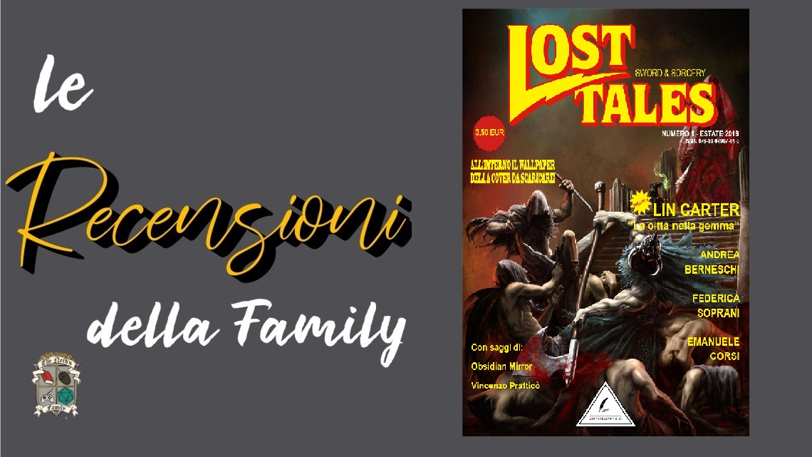Lost Tales, Sword & Sorcery. Numero 1.
