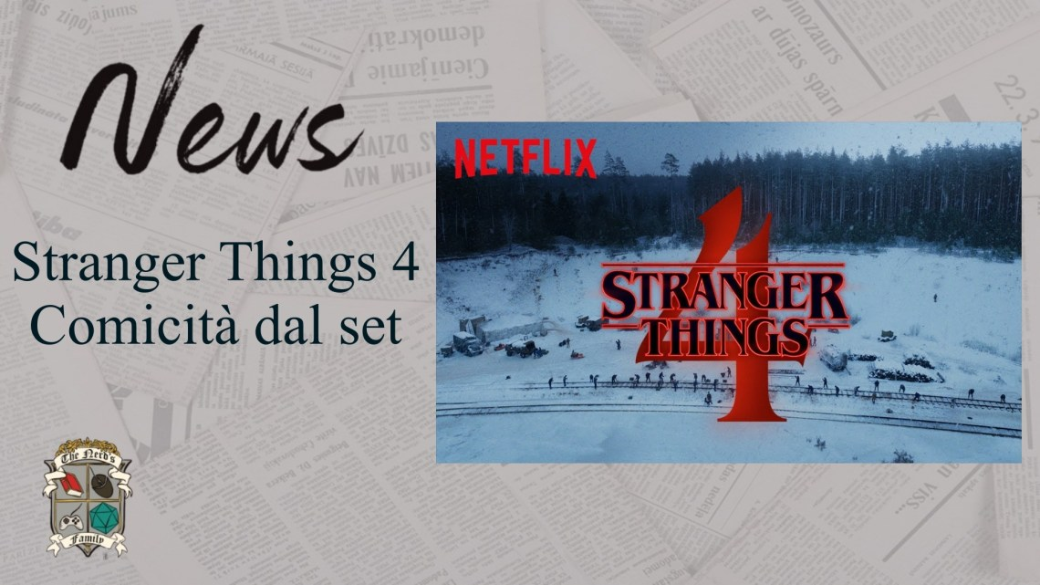 Stranger Things 4 – comicità dal set