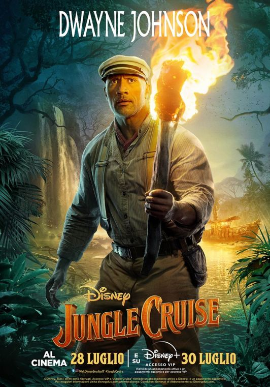 Jungle Cruise - The Rock