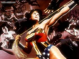 Wonder Woman: Your great-grandfather's favorite super-gal.