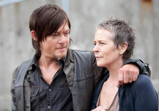 Sorry, I never liked the threats of the Daryl/Carol hook-up.