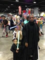 Jedi Family. I love that little girl so much!