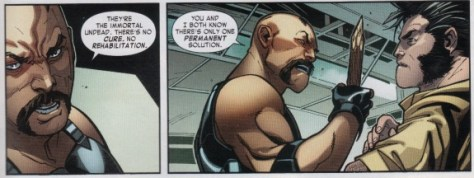 Blade should have offed Jubilee and Wolverine.