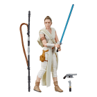STAR WARS: THE BLACK SERIES 6-INCH REY & D-O 2-PACK (HASBRO/Ages 4 years & up/Approx. Retail Price: Starting at $19.99/Available: Fall 2019) Fans and collectors can imagine scenes from the STAR WARS Galaxy with this premium STAR WARS: THE BLACK SERIES 6-INCH REY & D-O 2-PACK, inspired by STAR WARS: THE RISE OF SKYWALKER. This 2-pack comes with character-inspired accessories and features premium deco that makes a great addition to any STAR WARS collection. Includes figure, droid, and 3 accessories. Available at most major retailers.