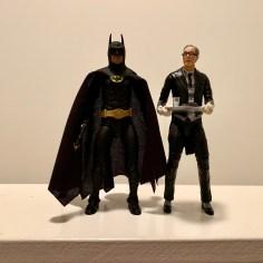 Alfred with NECA 1989 Batman