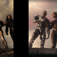 'Justice League' Side-By-Side