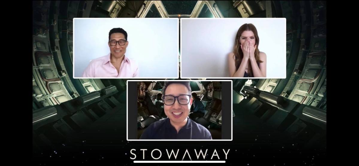 Crushing on Anna Kendrick, Daniel Dae Kim, and Shamier Anderson of Netflix's 'Stowaway'