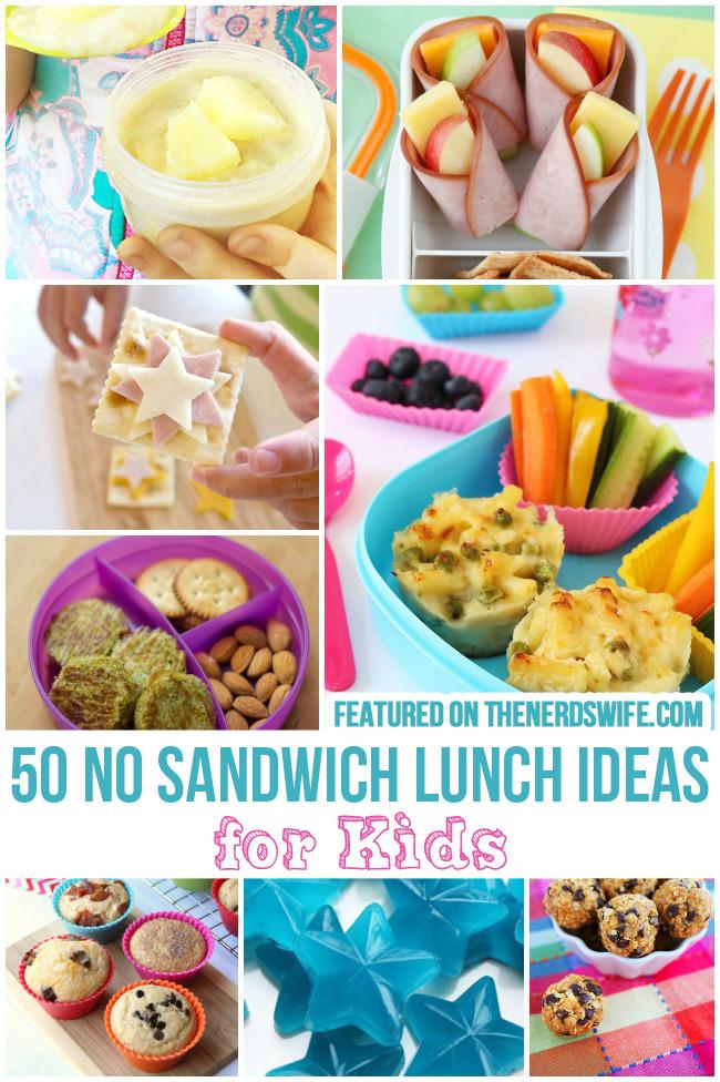 No Sandwich Lunch Ideas For School  The Nerd's Wife