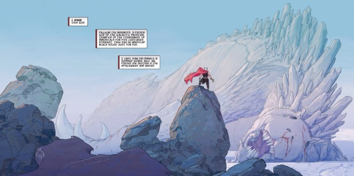 Epic doesn't even begin to describe it! - Thor: God of Thunder #3