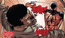The Scarlet Spider does not play around! OUCH! - Scarlet Spider #12.1