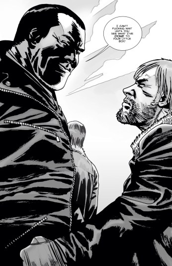 Damn you Kirkman and your cliffhangers!