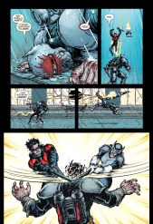 Just when I think Chris Burnham's art can't get any better he pulls an epic fight sequence out of thin air.