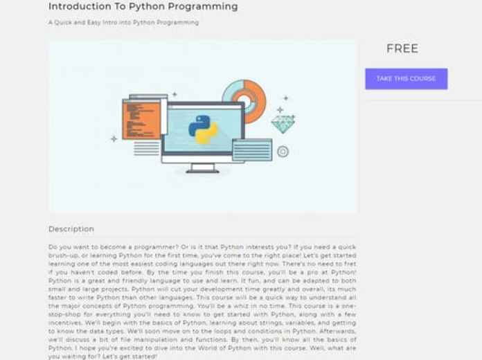 Learn Any Programming Language For Free Quick Code cryptocurrency, Python, R, Android, Swift,