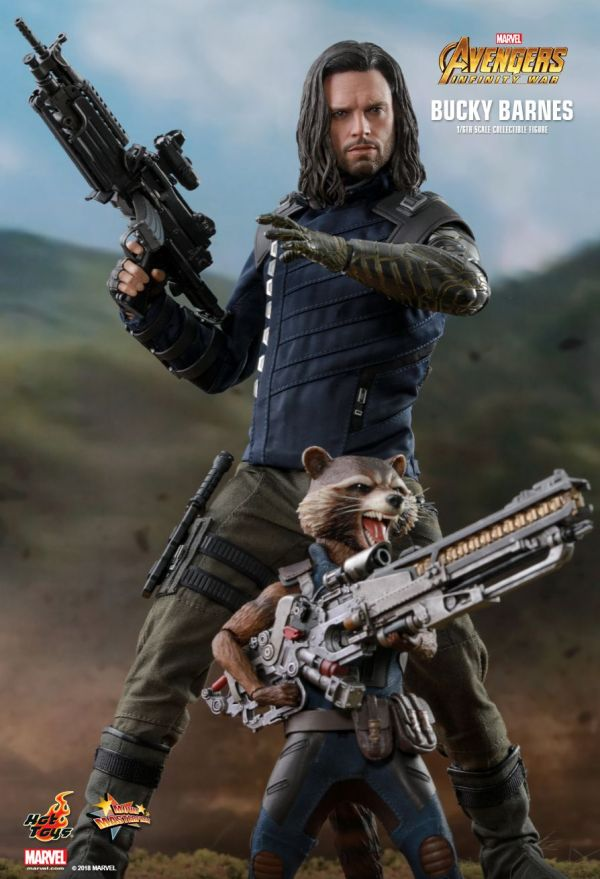 Hot Toys Rides Battle With Bucky Barnes Nerdy
