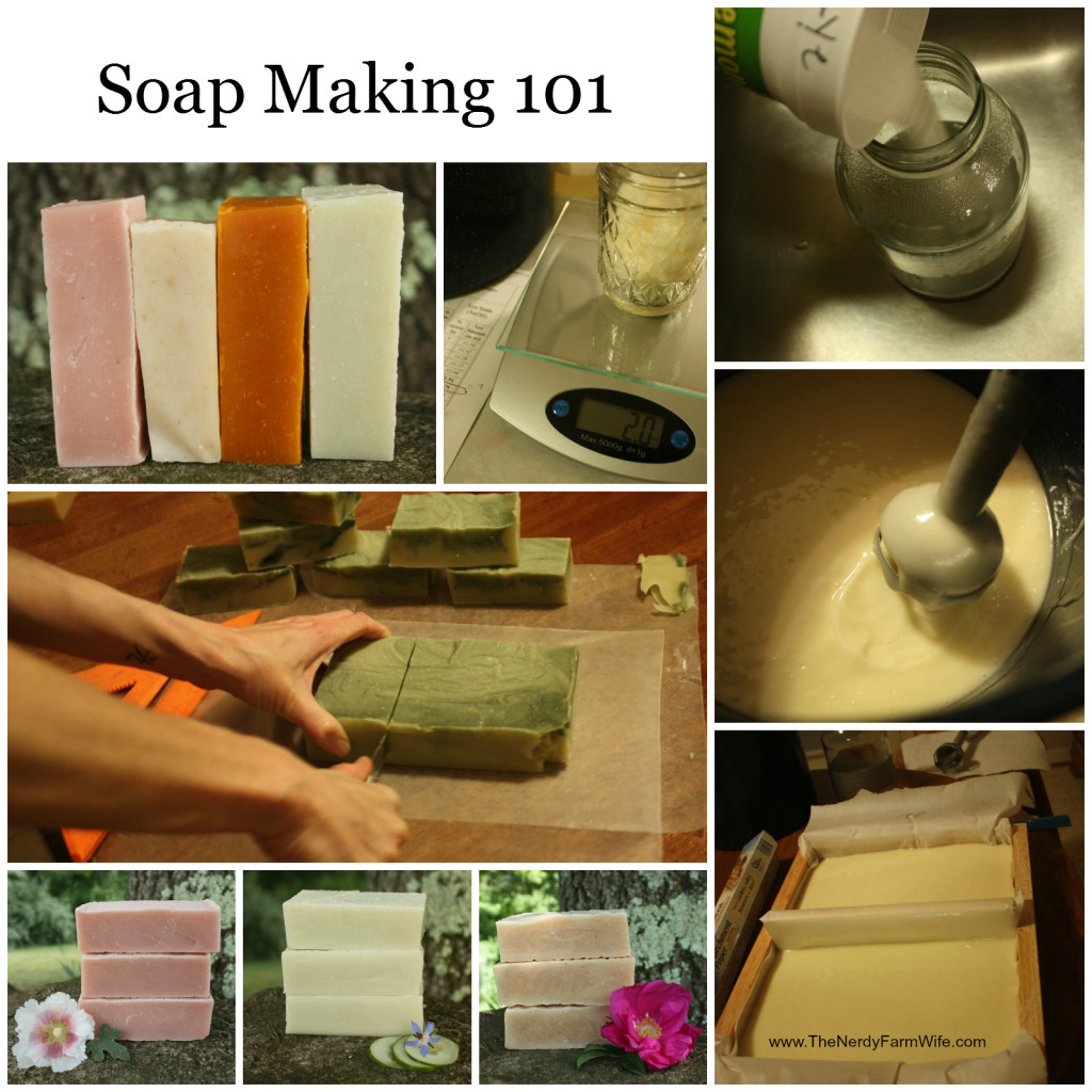Soap Making 101 - Cold Process Soap