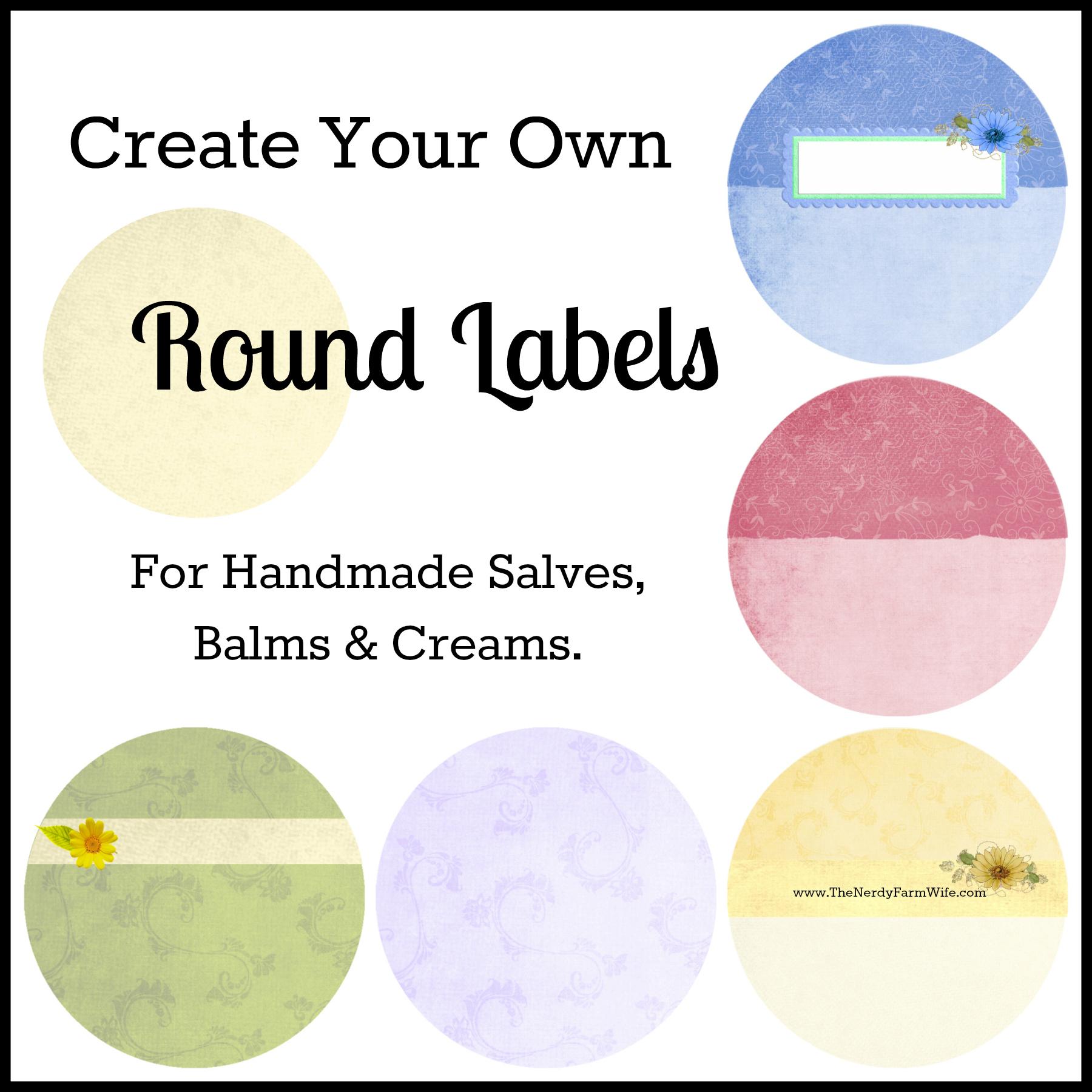 create label template