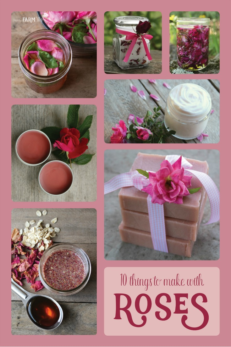 10 Things to Make With Roses