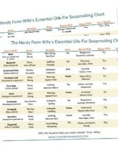 also essential oils for soapmaking chart rh thenerdyfarmwife