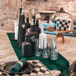 chess party kitchen