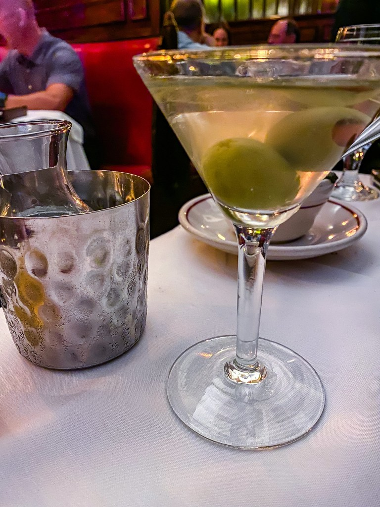 Musso & Frank's iconic martini