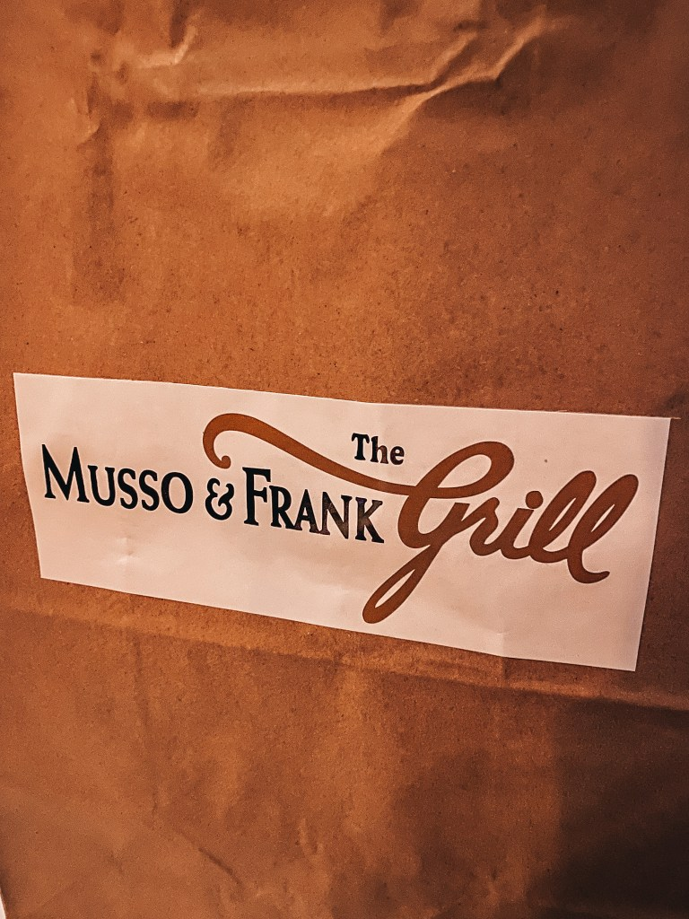 musso and frank sign