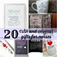 20+ Cute and Original Gifts for Nurses