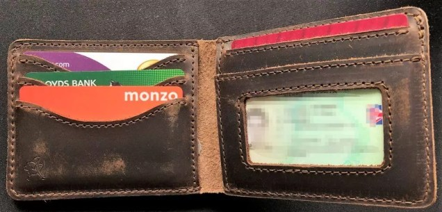 7e6667d9f0a26 Saddleback Leather Bifold Wallet - A Review - The Nerdy Student