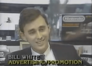 bill white nintendo, bill white marketing video