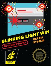 blinking light win, blinking light nintendo nes
