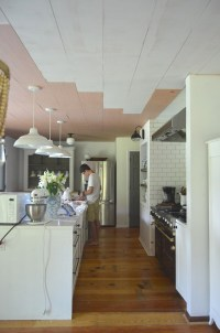Kitchen With Wood Plank Ceiling  Wow Blog